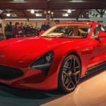 The new V8 TVR Griffith is the star of the show