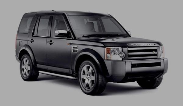 Grey Land Rover