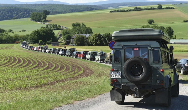 Land Rover set new Guinness World Record