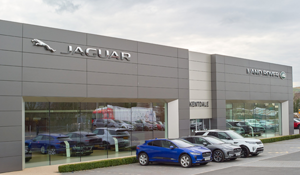 Jaguar dealership in Kendal